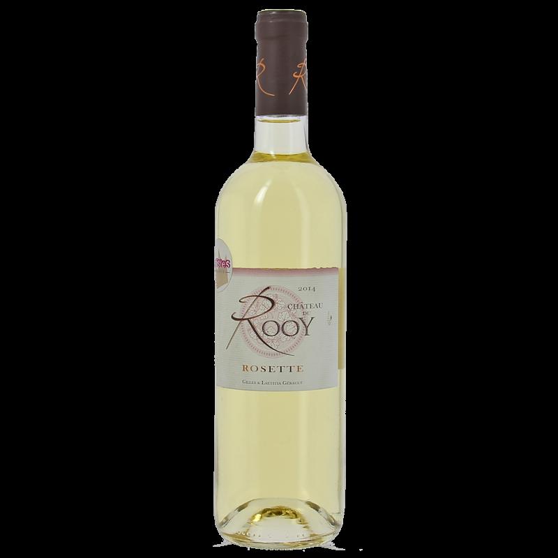 vin blanc moelleux rosette Chateau du Rooy