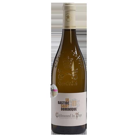 vin blanc puissant chateauneuf du pape bastide saint dominique