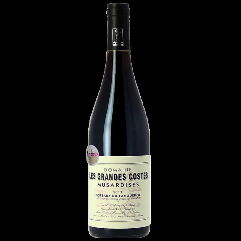 vin rouge fruité musardises languedoc