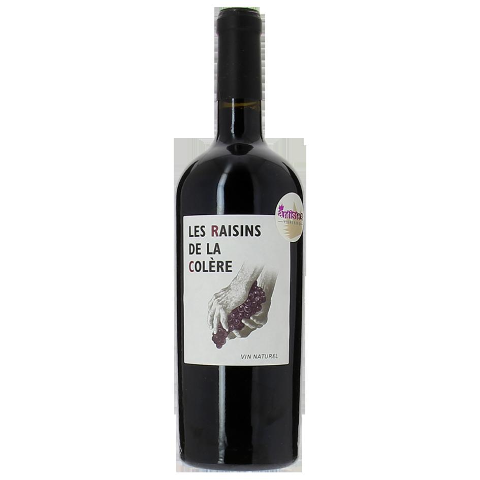 vin de france - vin nature- les raisins de la colère
